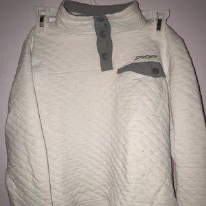 Spyder pull over sweater junior M